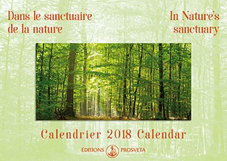 Calendar 2018: 'In Nature's sanctuary'