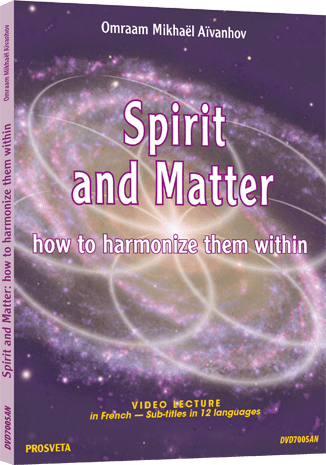 DVD PAL - Spirit and Matter - How to harmonize them within us